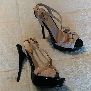 Strappy Charlotte Russe heels